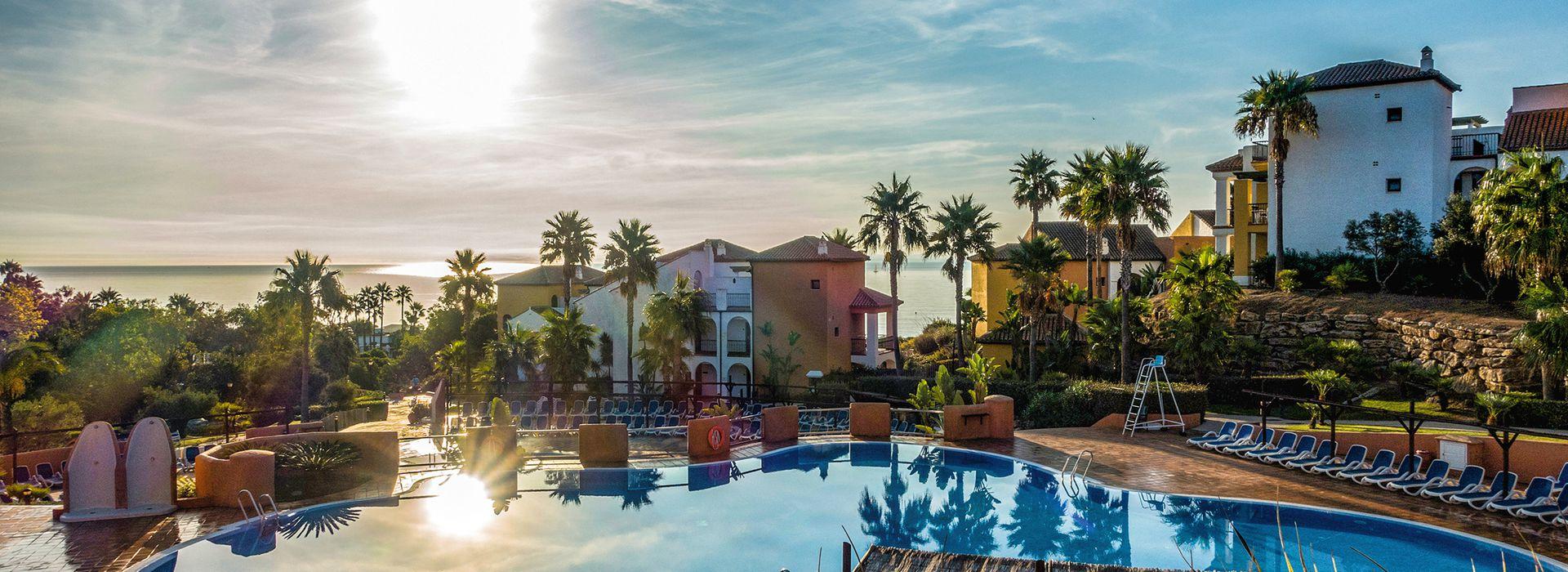 Poolbereich im Aldiana Club Costa del Sol