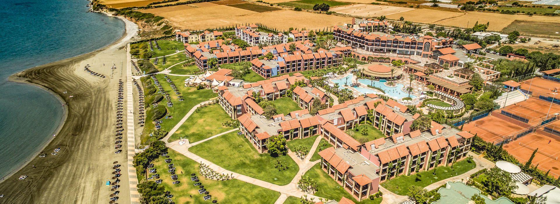 Aldiana Club Zypern von oben