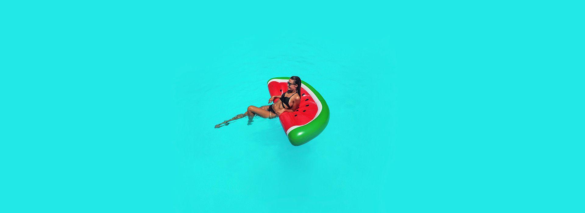 Entspannen im Pool