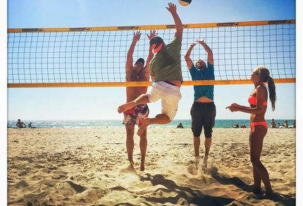 Beachvolleyball im Aldiana Club Andalusien