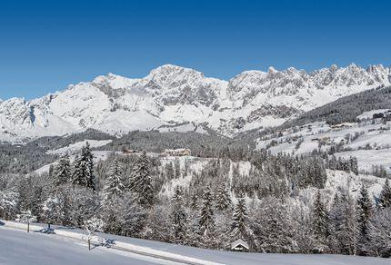 Schnee im Aldiana Club Hochkönig