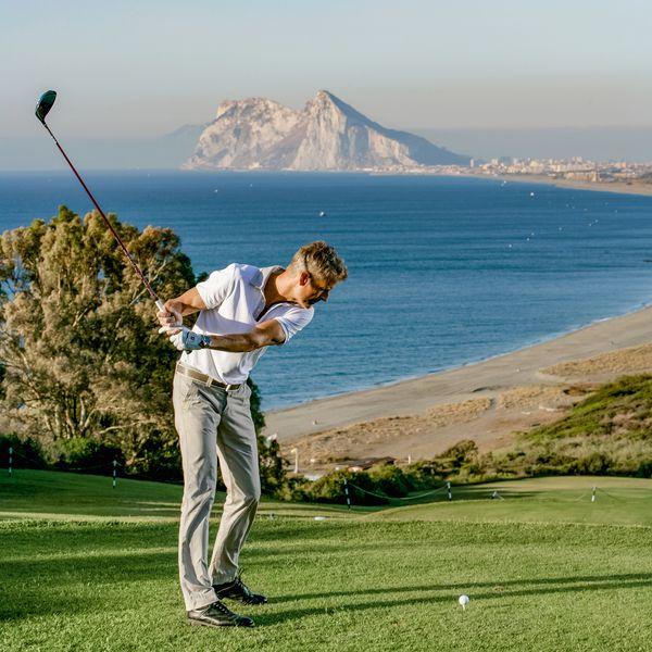 Golfen mit herrlicher Aussicht