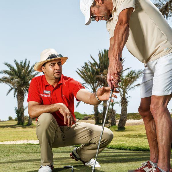 Golfen unter Freunden
