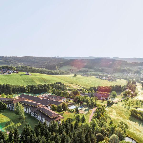 Aldiana Club und Landschaft von oben